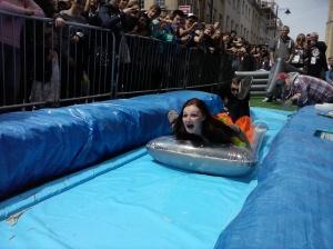 Me on Park street slide