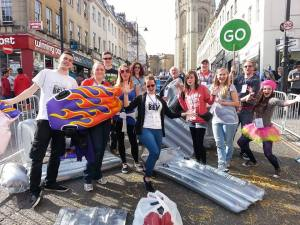 Park street slide team!